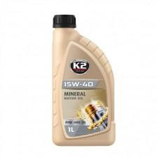 K2 TEXAR 15W-40 BENZIN DIESEL LPG 1 L