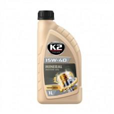 K2 TEXAR 15W-40 TURBO DIESEL 1 L