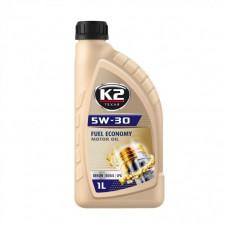 K2 TEXAR 5W-30 FUEL ECONOMY BENZIN DIESEL LPG 1 L