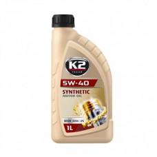 K2 TEXAR 5W-40 BENZIN DIESEL LPG 1 L
