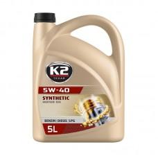 K2 TEXAR 5W-40 BENZIN DIESEL LPG 5 L